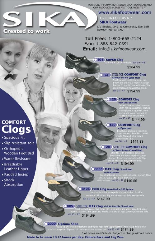 Sika Footwear Brochure